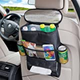 KC-KS03 Car Storage Bag Food Beverage Paper Towels Organizer Container Picnic Lunch Dinner
