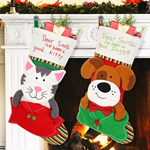 Aitbay Pet Christmas Stockings