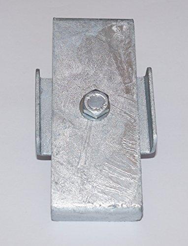 GABIONA Klammer Verbindungs-Klammer für Steinkorb Gabione feuerverzinkt (5 x 10 cm)