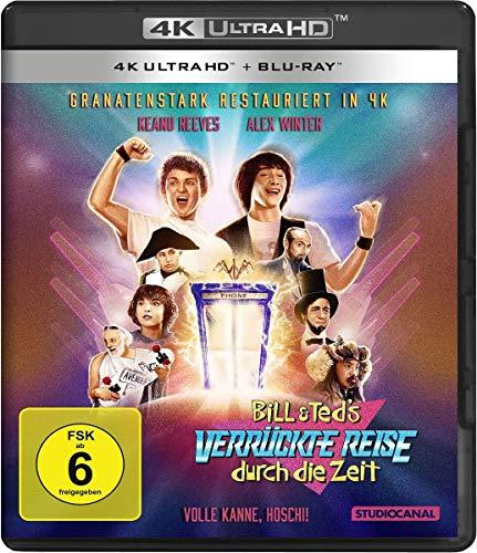 Bill & Teds verrückte Reise durch die Zeit (4K Ultra HD) (+ Blu-ray 2D)