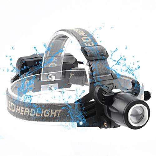 CapsA LED Headlamp Flashlight Cap Clip Light Mini USB Charging Headlight Great for Running Camping Hiking Fishing Outdoors Lightweight Comfortable...