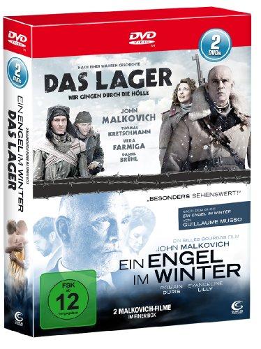 John Malkovich - Die Box - Boxset mit 2 John Malkovich Hits (Das Lager, Ein Engel im Winter) [2 DVDs]