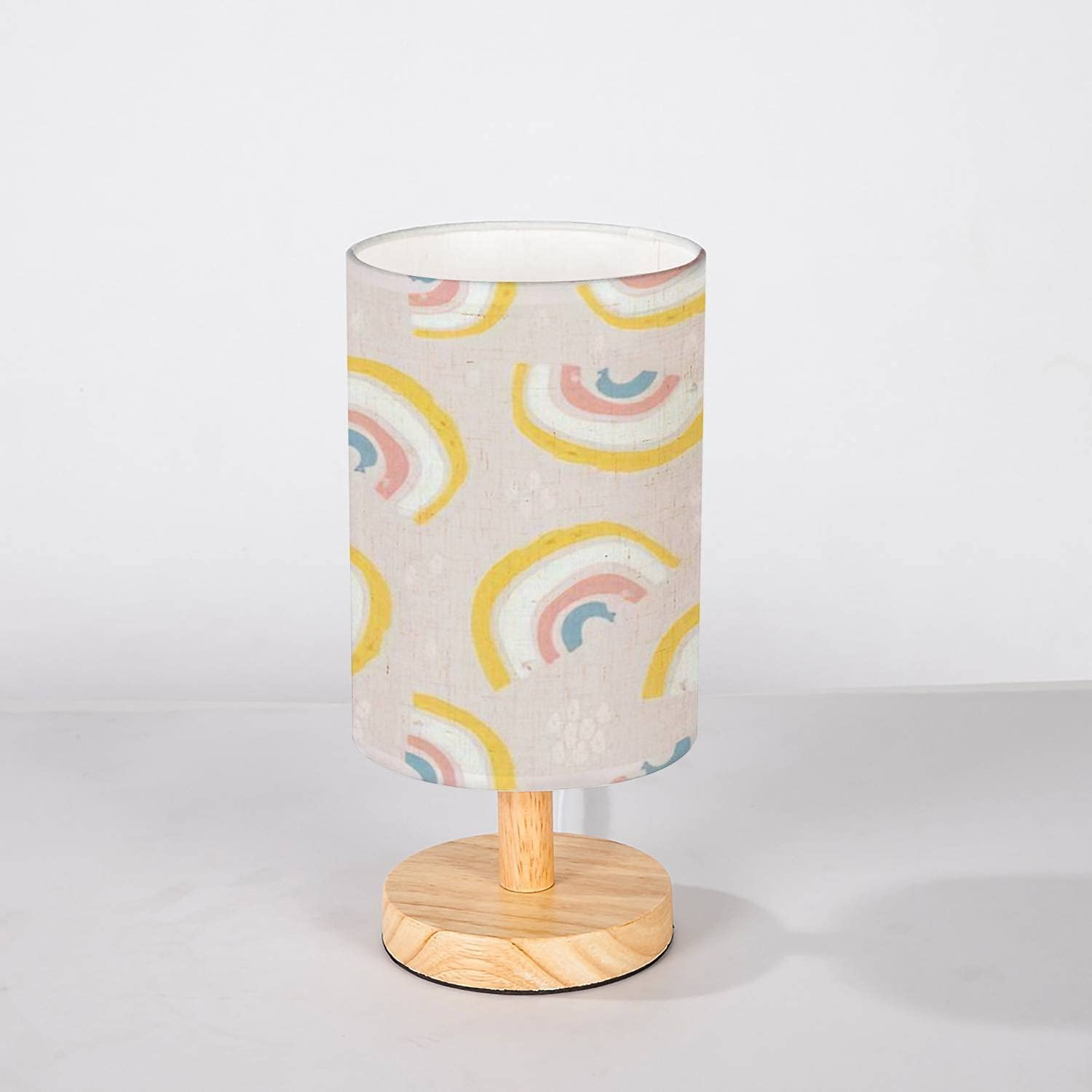 Minimalist Bedside Table Lamp Bombing free shipping Seamless Childish with Super popular specialty store Han Pattern