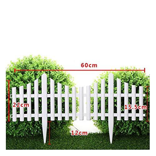 JIANFEI-weilan tuinhek steekhek PVC bloemenbed grens waterdicht buitendecoratie, 12 maten