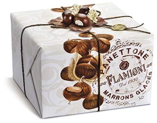 Flamigni - Panettone handwerkliche marrons glacés (17%) 1kg