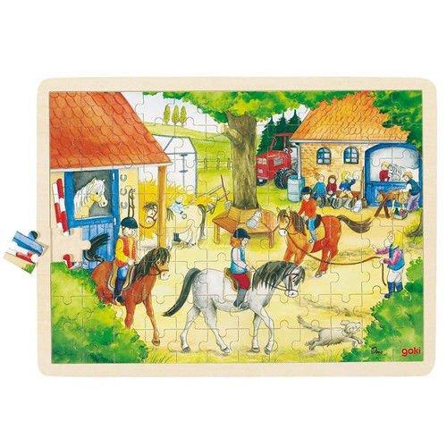 Goki 57843 Holzpuzzle