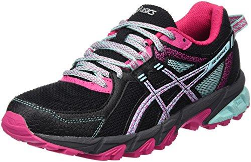 Asics Gel-Sonoma 2 - Zapatillas de Running para Asfalto para Mujer, color multicolor (black/aqua haze/sport pink), talla 39.5 EU (6 UK)
