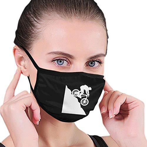 Mountainbike kinderen volwassenen druk polyester stofdicht wasbaar herbruikbare mondbescherming voor reizen