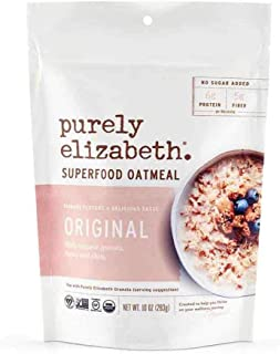 Purely Elizabeth Original Superfood Oats 10 oz (Pack of 6)