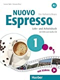 Nuovo Espresso A1: Nuovo Espresso 1: Ein Italienischkurs / Lehr- und Arbeitsbuch mit DVD und Audio-CD