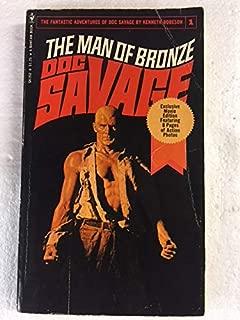Man of Bronze (Doc Savage #1) (Vintage Bantam, E2853)