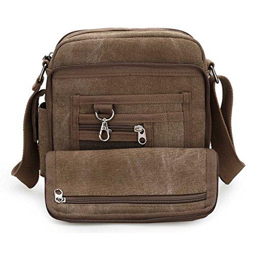 MeCooler Schultertasche Canvas Umhängetasche Designer Marken Reisetasche Taschen für Männer Schule Retro Weekender Freitag Handtaschen Günstig Messenger Strandtasche Sporttasche Reisetaschen