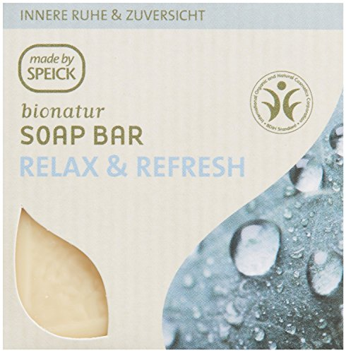 Speick Déodorant Made By – bionatur Soap Bar Relax & Refresh, 100 g
