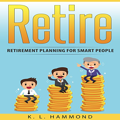 Retire audiobook cover art