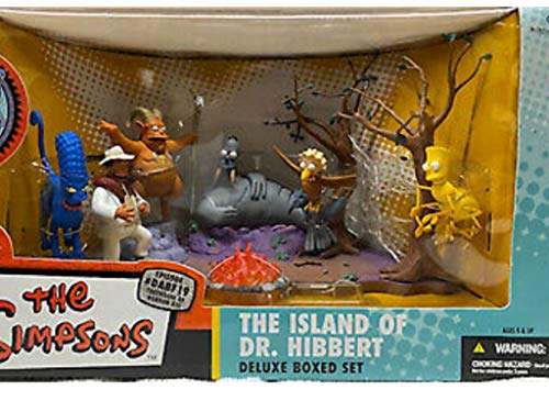 Action Figur The Simpsons: The Island of Dr. Hibbert Del.Boxed Set
