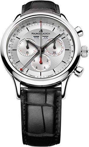 Maurice Lacroix Les Classiques Chronographe LC1228-SS001-131-1 Herrenchronograph Klassisch schlicht