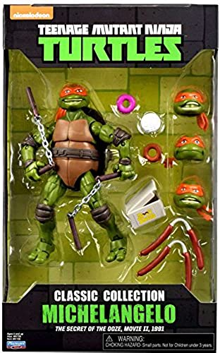 Teenage Mutant Ninja Turtles Michelangelo Classic Collection