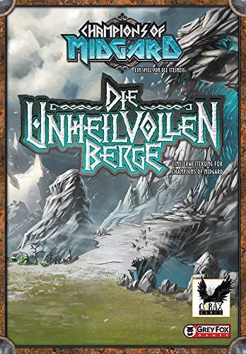 Corax Games Champions of Midgard - Die unheilvollen Berge Erweiterung Brettspiel deutsch