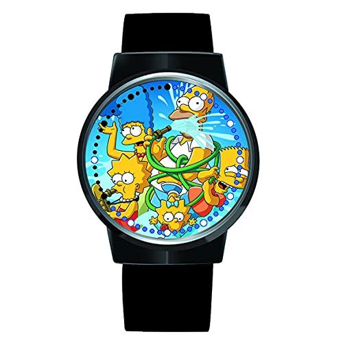 Anime Watch Die Simpsons Uhr LED Touchscreen Wasserdicht Digital Light Clock Armbanduhr Unisex Cosplay Geschenk Neue Armbanduhren Kinder
