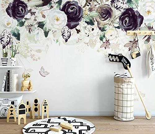 高い素材 AJ WALLPAPER 3D Black Rose WC142 Decal ハイクオリティ Wal Paper Print Wall Deco