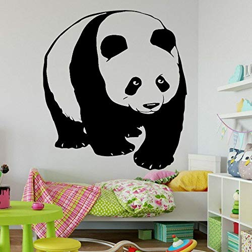 Cute animal wall stickers panda pattern removable wall decals kindergarten kids baby room decoration 63X57cm