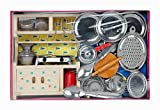 Home Sweet Home Wooden and Steel Kitchen Toy Set for Girls