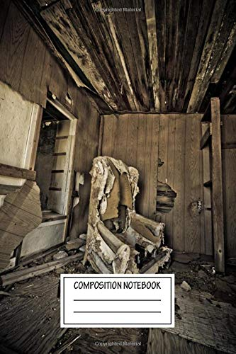 Composition Notebook: Vintage Posters Lost In Time Industrial Wide Ruled Note Book, Diary, Planner, Journal for Writing