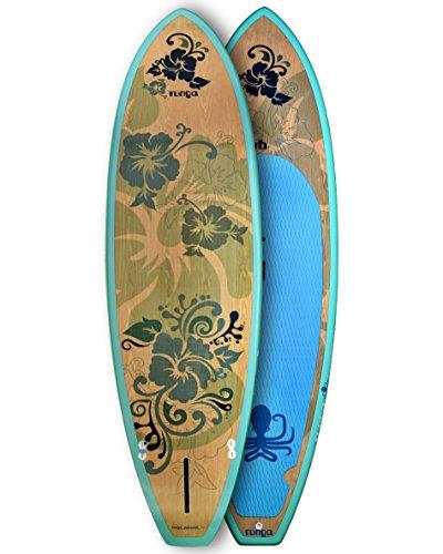 RUNGA PUAAWAI SURF Wood 9.5 Stand-UP Paddle Board SUP HARDBOARD Hard SURF Board