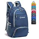 ZOMAKE 30L Lightweight Packable Backpack Water Resistant Hiking Daypack,Small Travel Backpack Foldable Camping...