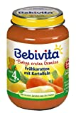 Bebivita Frühkarotten mit Kartoffeln, 6er Pack (6 x 190 g)
