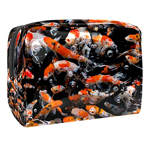 Maquillage Sacs Portable Voyage Cosmétique Sac Organisateur Cas Multifonction Carpe Fantaisie Japonaise avec Trousses de Toilette à...