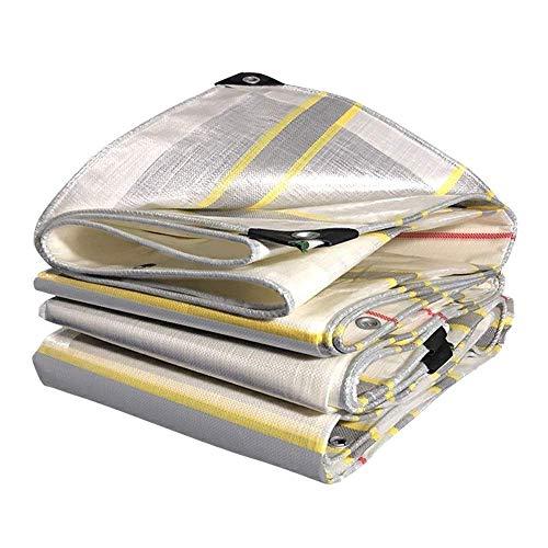 Lona de rayas de color gruesa impermeable para uso exterior (color: A Tamaño: 2x5M)
