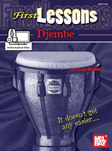 First Lessons Djembe (English Edition)