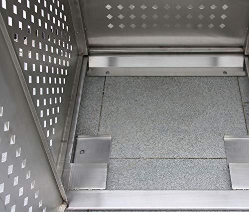 Mülltonnenbox für vier Mülltonnen 240 l - 7