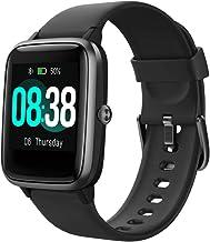 YONMIG Smartwatch Fitnessarmband Tracker Volledig Touchscreen Horloge Hartslagmeter Waterdicht IP68 Polshorloge Smart Watc...