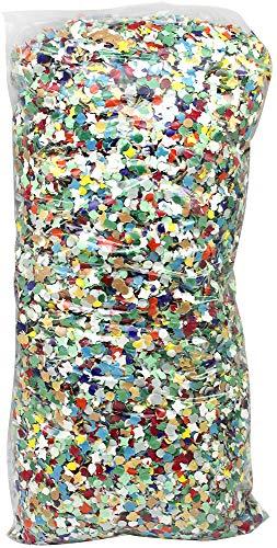 com-four 1000g Saco de Confeti en Colores Brillantes - Decoraciones para Fiestas, el año Nuevo y cumpleaños - Bolsas de Confeti Multicolor