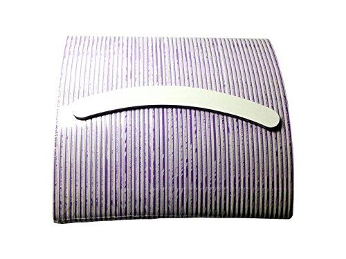 KM de Nails 50x blanca profesional limas 100/180curvada Lima de uñas fabricado en Alemania Top calidad