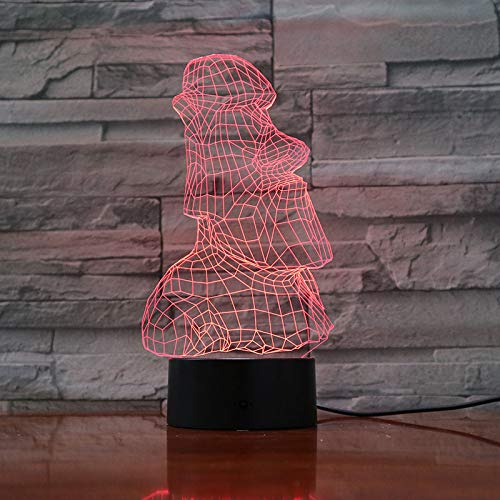 Luces Nocturnas Led Lámpara 3D De Dibujos Animados