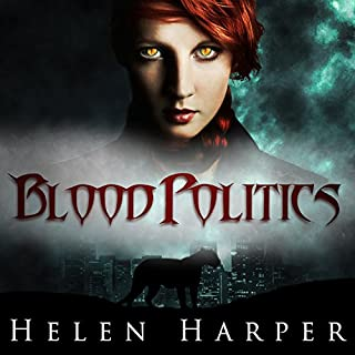 Blood Politics audiobook cover art