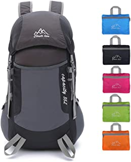 PAVEHAWK Lightweight Packable Backpack Foldable Backpack Water Resistant Durable Travel Hiking Daypack 35L