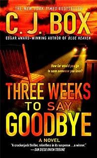 Three Weeks to Say Goodbye: A Novel