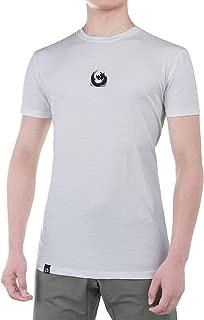 JoinBreak Mens Supreme Cotton T-Shirts with Mesh, Fitness Tee, Sportstyle Cotton/Elastane Tee