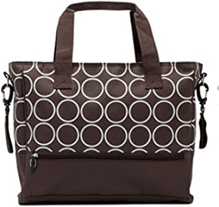 Mummy Bag Multi-Function Large-Capacity Striped Mother Bag Hand Lading Shoulder Diagonal Fashion Mother and Baby Bag out H...