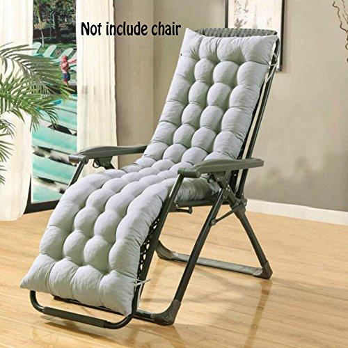 Coussin d'assise en tissu pour fauteuil relax chaise longue Soulage les douleurs de dos et la pression Doux et confortable Idéal pour bureau à domicile et lecture