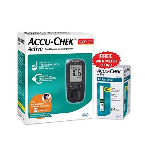 Roche Accu-Chek Active Blood Glucose Meter Kit
