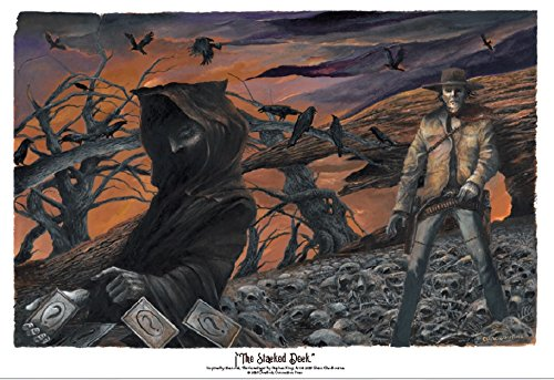 The Dark Tower 1 Lithograph THE STACKED DECK
