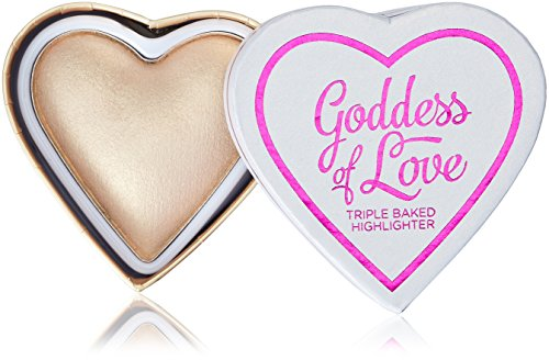 Makeup Revolution I Heart Makeup Hearts Highlighter - Golden Goddess, 10 g