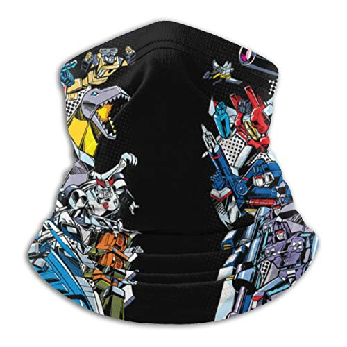 Others Transformers Decepticons Anime Microfiber Neck Warmer Scarf Gaiter Headwear Face Mask