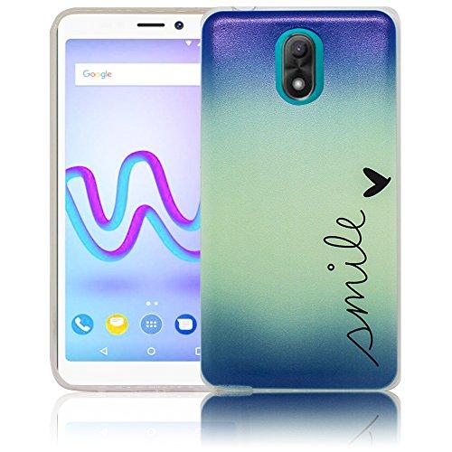 Wiko Lenny 5 Passend Smile Handy-Hülle Silikon - staubdicht, stoßfest & leicht - Smartphone-Case