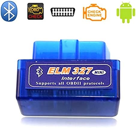 Arinda Mini Bluetooth Car Diagnostic Scan Tool Auto Scanner for OBDII OBD2 Android Devices V2 product image